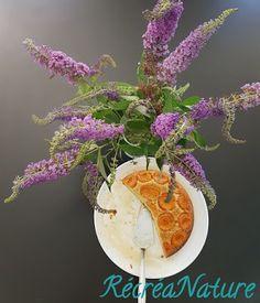 RécréaNature : Gâteau au Yaourt, Amandes et Abricots, comme une Tatin