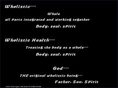 WHOLISTIC…The Alive, Fit & Free system... http://alivefitandfree.com/wholistic/
