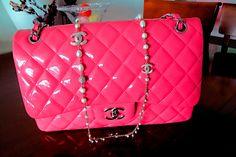 Chanel oversized hot pink bag♥♥♥♥♥♥