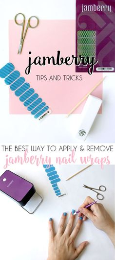 the best jamberry application and removal tips for perfect nails!