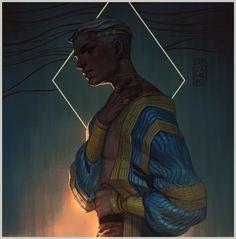 Dawn of the Young God by Mezamero.deviantart.com on @DeviantArt
