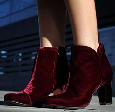 #Velvet #Boots by LadyAddict