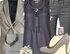 Businessoutfit mit Blazer ♥ Hier kaufen: http://www.stylefruits.de/businessoutfit-ich-will-auch-fruehling/o2914068 #Blazer #business #Bluse