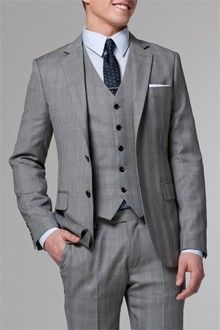 The Essential Prince of Wales 3 Piece Suit