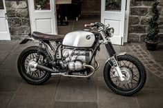 Down & Out Tom's R80 - the Bike Shed