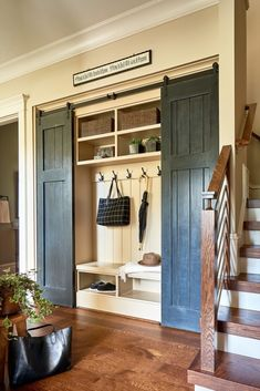 Entry Closet, Entry Foyer, Front Entry, Mudroom Laundry Room, Bench Mudroom, Custom Built Homes, Basement Remodeling, Interiores Design, Home Renovation