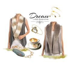 """DREAM A LITTLE DREAM"" by kelli-couture ❤ liked on Polyvore featuring Love Quotes Scarves"