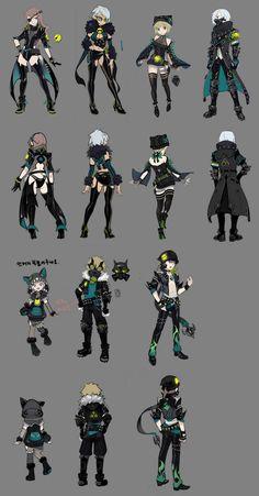 Dragon Nest  Musician costume design by CoJiLJiL