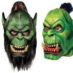 Holy moly! It's an orc! That's what people will say when you walk by, either just strolling in the office or scaring party-goers on Halloween. These World of WarcraftOrc Masks were inspired by, you guessed it, the ever-popular WoW. If you're a super-fan, and maybe even an orc in your online life, this mask might…
