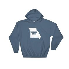 Missouri Show Me State Adult Hoodie