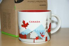 Starbucks City Mug Canada , Tasse 14oz,  You are here, NEU