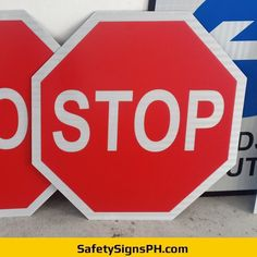 Octagon Stop Road Signage Philippines, Safety, Signs, Security Guard, Shop Signs, Sign