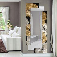 Petunia Oro Scomposta#specchiera #specchiere #specchio #mirror #specchi #mirrors #madeinitaly #paintings #pictures #pintdecor #canvas