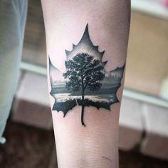 Dreamy Tattoo Designs To Celebrate The Beautiful Autumn Season - DesignTAXI.com