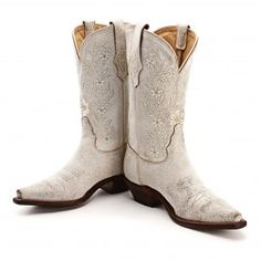 BootDaddy Collection with Tony Lama Bone Cracked Cowgirl Boots - Women's Boot Styles - Cowgirl Boots - Boots