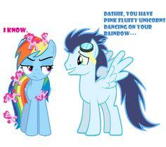 Pink+Fluff+unicorns+dancing+on+rainbow+dash+by+Yoshi123pegasister.deviantart.com+on+@deviantART