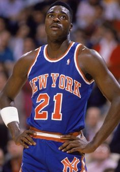 Gerald Wilkins.. Up tempo player and good size.. Hustle and hard work made Gerald a good Knick player..Nice talent !! Ray T NYC
