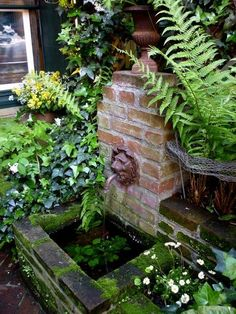 Why You Should Invest In Simple Water Features For Your Home Garden – Pool Landscape Ideas Small Water Features, Outdoor Water Features, Water Features In The Garden, Garden Features, Diy Water Feature, Backyard Water Feature, Garden Water Fountains, Water Garden, Outdoor Fountains