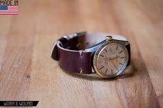 worn&wound | w&w goes to the Pop Up Flea, Cordovan Straps and more - worn&wound