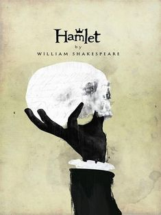 Hamlet by William Shakespeare. Read A book I should have r… Hamlet by William Shakespeare. Read A book I should have read in high school. Shakespeare Book Covers by Chris Hall Book Cover Art, Book Cover Design, Book Design, Book Art, Good Books, My Books, Inspiration Artistique, Beautiful Book Covers, Cool Book Covers