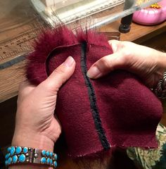 Tips for Sewing with Faux Fur by Kenneth King - flatten seam