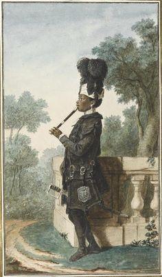 """""""Narcisse, nègre du duc d'Orléans"""" vers 1770 Tome 9 N° 18"""