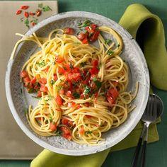 Spaghetti aglio e olio Rezepte | Weight Watchers