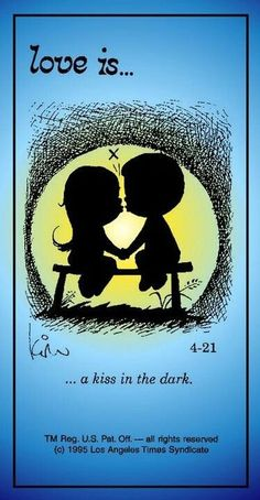 Love is.a kiss in the dark. Love Is Cartoon, Love Is Comic, Marriage Relationship, Love And Marriage, Relationships, Strong Marriage, Marriage Tips, Beautiful Love, Cute Love