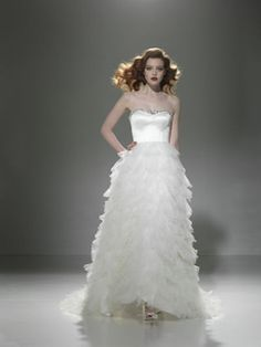 """jeweled bodice - justin alexander """"9660"""" gown"""