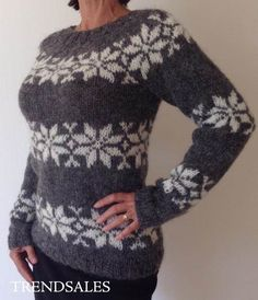 FruStrik - Sarah Lund, Sara Lund, Sweater, Trøje, Islandsk sweater, Strik, Fru Strik. Jumper for sale at www.frustrik.dk Fair Isle Knitting, Hand Knitting, Knitting Patterns, Hooded Scarf Pattern, Icelandic Sweaters, Lund, Knit Crochet, Chrochet, Knitting Projects