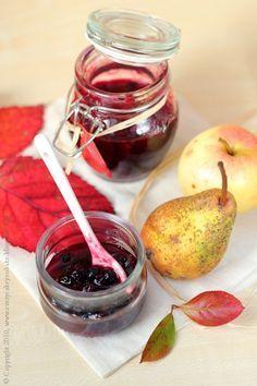 aronia do serów i mięsa, aronia berries preserve #aronia
