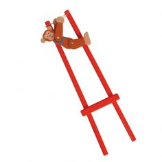 Wooden Trapeze Monkey from Little Baby Company