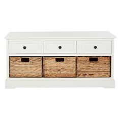 Storage Bench - could build this so a single mattress is placed on top for a space saving window seat or day-bed!