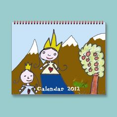 Children´s drawings Calendar 2012  A cute calendar with nice drawings from or for children. It's nice for kids