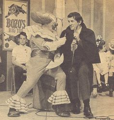 Bozo the Clown & Barnabas Collins (Jonathan Frid)