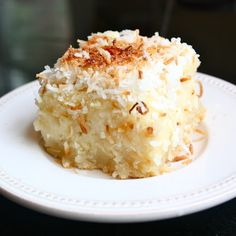 Coconut Butter Mochi is an easy Hawaiian local-style treat made with sweet coconut, melted butter, and a gooey rice flour base.
