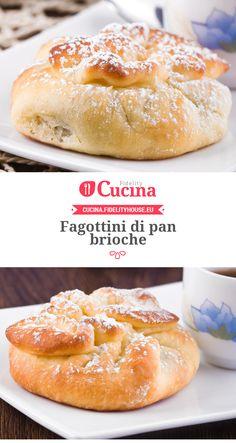 Fagottini di pan brioche