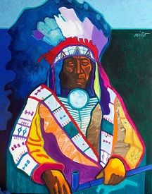 John Nieto New original Paintings Available, Upcoming Show, Contemporary Western Art Indian Pictures, Indian Pics, Red Indian, Native American Artists, Native American Indians, Bull Painting, Navajo Print, Indian Artwork, Spirited Art