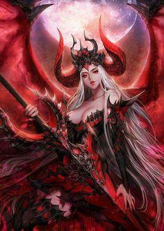 Webnovel - novel - Profane Prince of Domination - Devil_Paragon - Fantasy - Mature, Harem Government intelligence agencies realized that Konrad, the w Dark Fantasy Art, Fantasy Girl, Fantasy Art Women, Fantasy Kunst, Fantasy Warrior, Fantasy Artwork, Warrior Angel, Dark Artwork, Art Anime