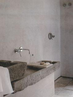 love this stone sink!