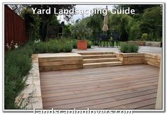wooden garden retaining wall garden projects a timber retaining walls build wooden retaining wall Wooden Retaining Wall, Retaining Wall Design, Building A Retaining Wall, Retaining Walls, Sleeper Retaining Wall, Landscaping A Slope, Farmhouse Landscaping, Landscape Plans, Landscape Design