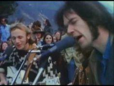 CSNY - Crosby, Stills, Nash & Young - Down By The River (Big Sur, CA 196...