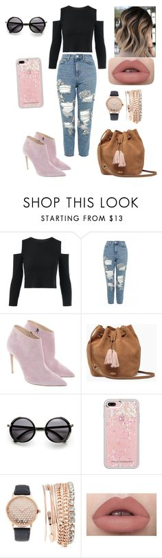 """""""Untitled #21"""" by sweet1620 ❤ liked on Polyvore featuring Topshop, Ralph Lauren, UGG, Rebecca Minkoff and Jessica Carlyle"""
