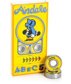 Andale Abec 5 Skateboard Bearings