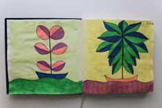 LAURA GUILLÉN 22-6-15 diario arte naturaleza mar sketchbook art nature sea sketching sketch