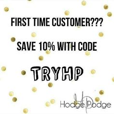 Are you a first time customer with Hodge Podge? Today is the LAST DAY to get 10% OFF! Remember,  we have a variety if stuff from makeup to candles, home decor to stuff for your pets and FUDGE! Check it out at www.shophodgepodge.com/rep/bcacheerleading #hodgepodge #firsttimecustomer #lastday #discount #sept30th #widevariety #makeup #candles #petsupplies #fudge #saltwatertaffy #bathbombs #homemadesoaps #10percentoff #dontmissout
