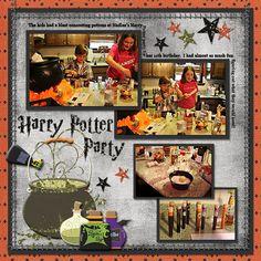 Harry Potter Party by ElkFan
