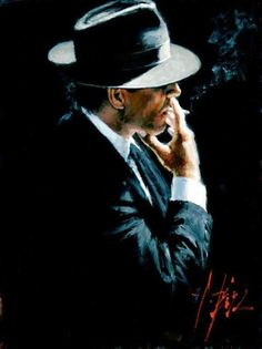 Buy powerful figurative framed or unframed prints from acclaimed artist Fabian Perez today. ☆ off Limited Edition Prints by Fabian Perez ☆ Fabian Perez, Mafia, Hipster Noir, Illustration Photo, Under The Lights, Chef D Oeuvre, Pulp Art, Tango, Vincent Van Gogh