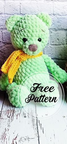 Free Amigurumi Crochet Bear Pattern and Images , amigurumi patterns free; amigurumi for beginners; Crochet Bee, Crochet Teddy Bear Pattern, Knitted Teddy Bear, Crochet Amigurumi Free Patterns, Crochet Crafts, Crochet Dolls, Crochet Projects, Free Crochet, Crochet Stitch