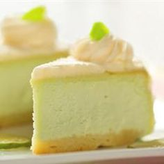 Low Carb Key Lime Pie... this isn't just another pretty face.  I made this and it IS good.  Sugar?  Don't need it!
